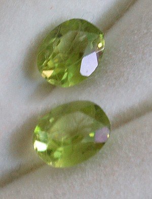 6.25x4.75mm, Peridot-oval