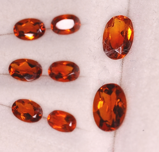 6x4mm, Madeira Citrine-Oval
