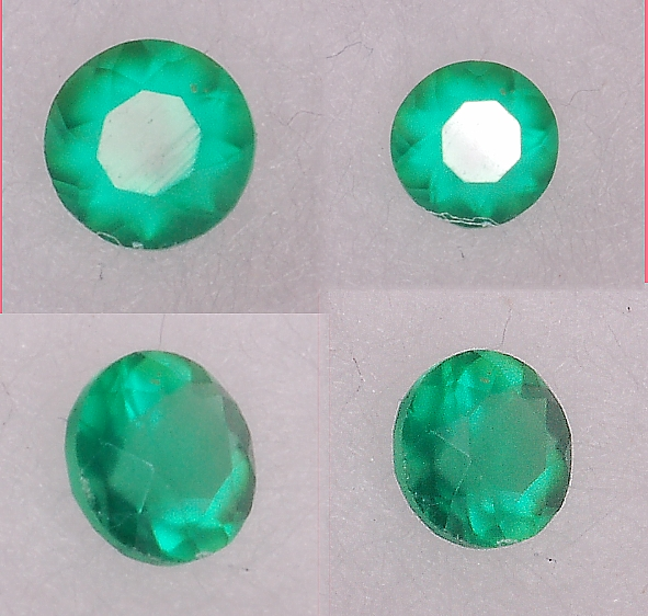 2.5 mm, Green Agate-round