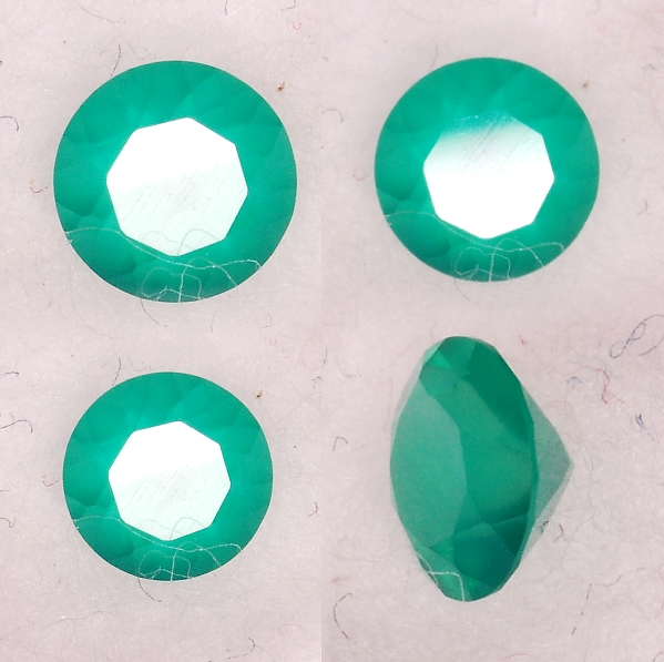4 mm, Green Agate-round