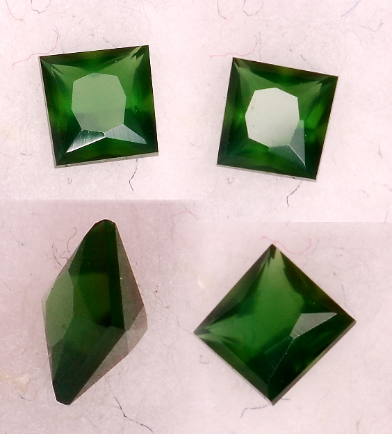 3 mm, Green Agate-princess