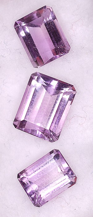 9.5x7.5mm, Amethyst-emerald