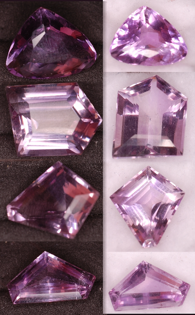 31.28 cts of Amethyst - 4 pcs Parcel