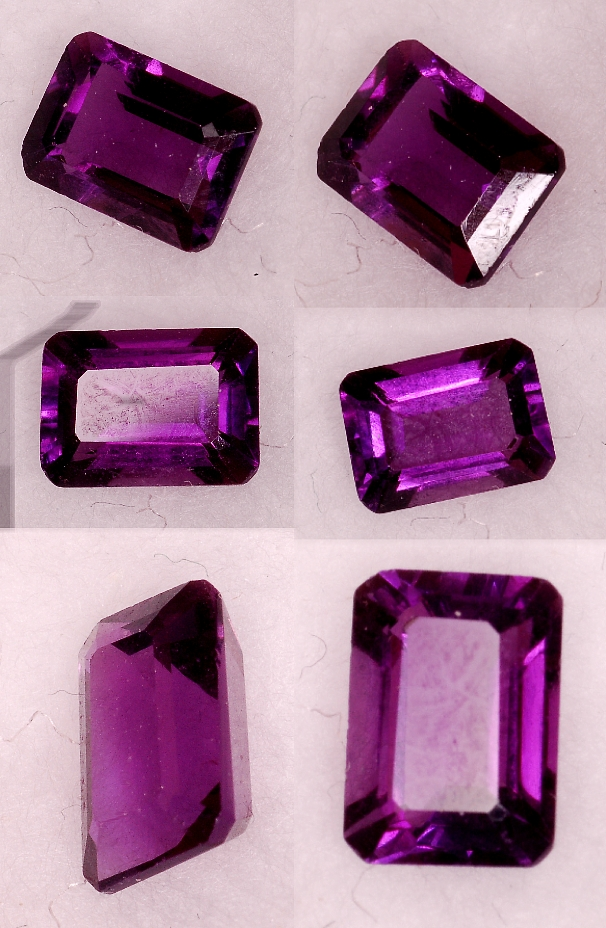 7x5mm,Med Purple Amethyst-emerald