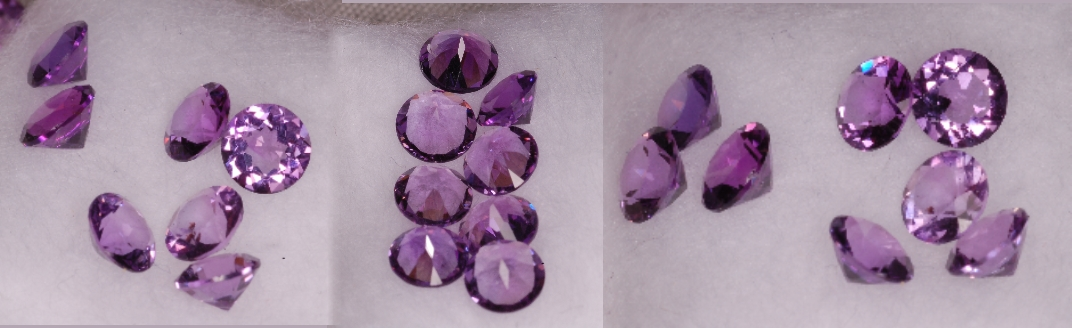 4 mm,Medium Amethyst-round