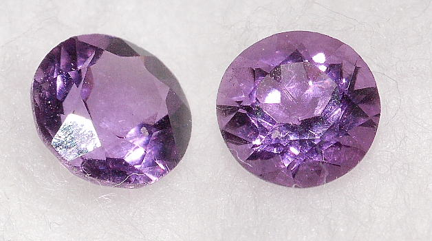 5.35 mm, Purple Amethyst-round