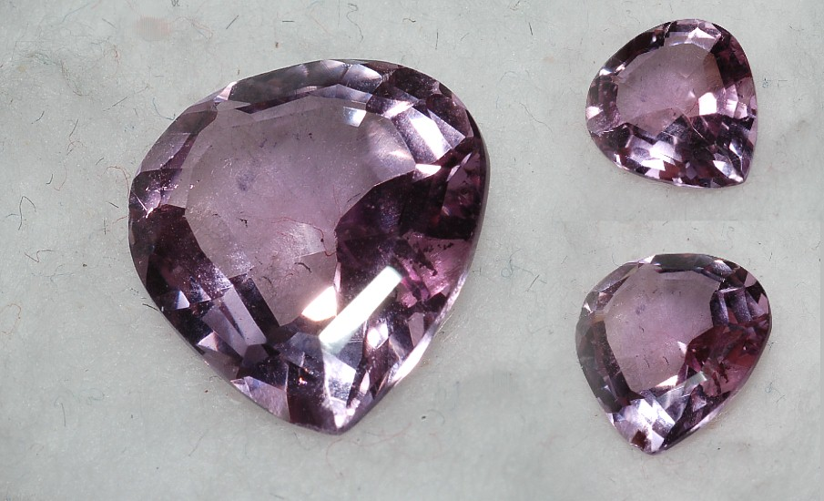 12.5x11.25mm,Med Purple Amethyst-pear