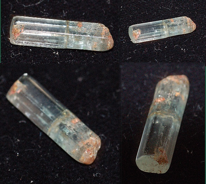 14x4mm bar crystal - Aquamarine Specimen