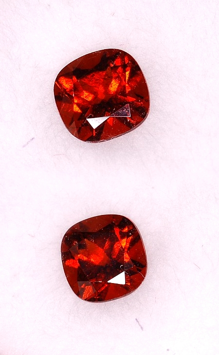 6.25 mm, Hessonite Garnet-Square