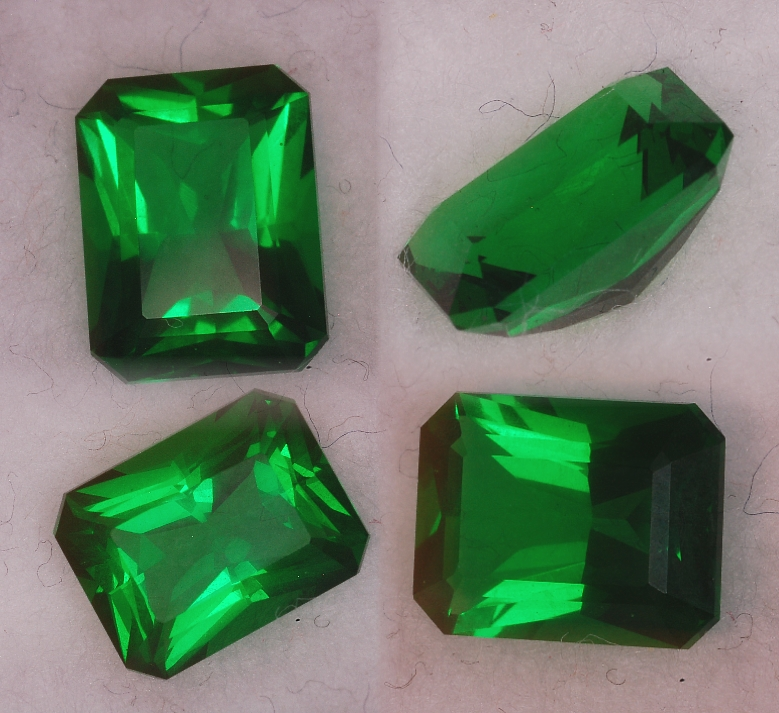 Man Made Emeralds Gallery