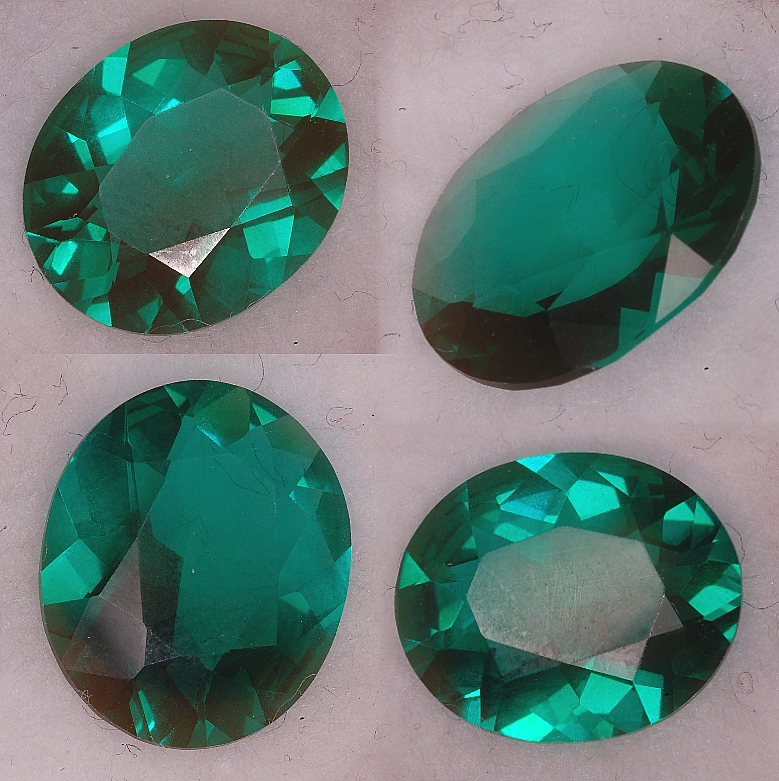 12x10mm,Blueish Green Helenite-oval
