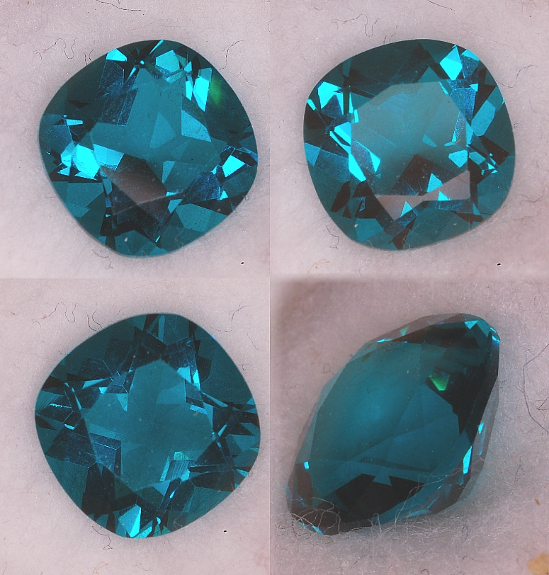 Mt St Helens Green or Red Helenite Oval Cut Loose Stones