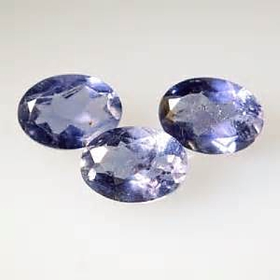 5x3mm, Blue Iolite-oval