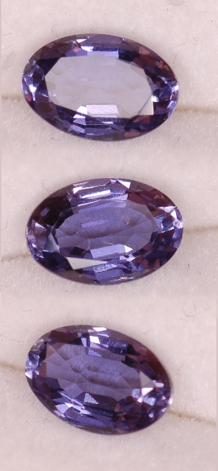 6x4mm,medium Violet Iolite-oval
