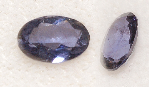 6x4mm, Violet Iolite-oval