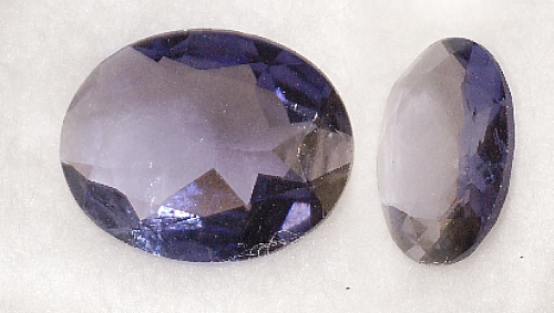 10x8mm, Violet Iolite-oval