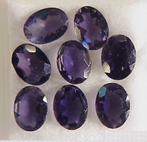 7x5mm, Blue Iolite - Oval