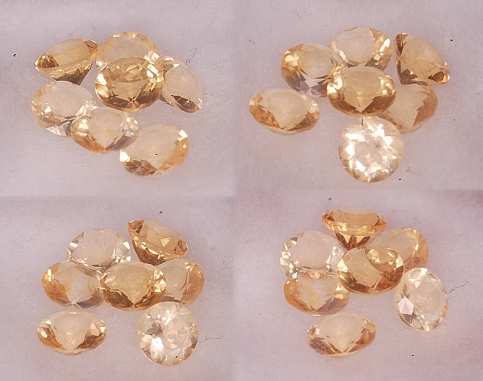 4 mm,Mexican Yellow Opal-Round