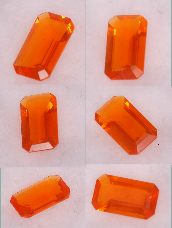 8.7x5mm, Mexican Orange Opal-rectangle