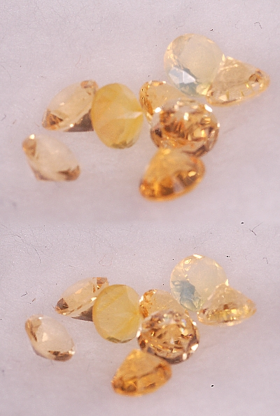 3 mm,Mexican Yellow Opal-round