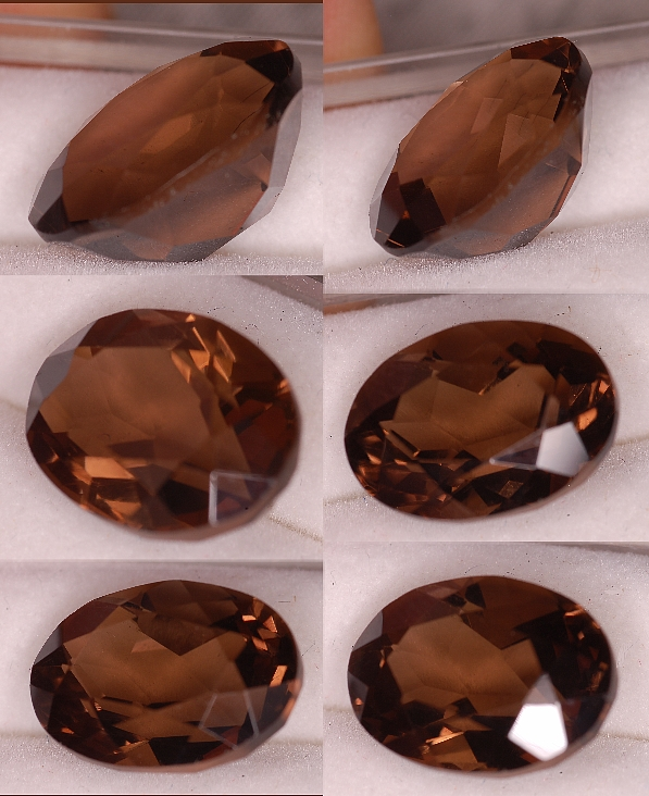 14x10mm, Smokey Quartz-oval