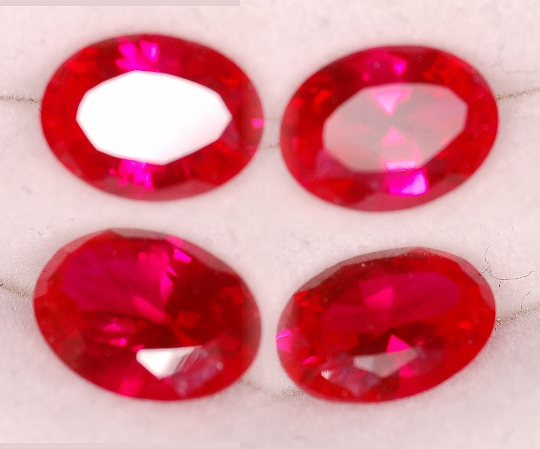 8x6mm, Rubies-Lab-oval
