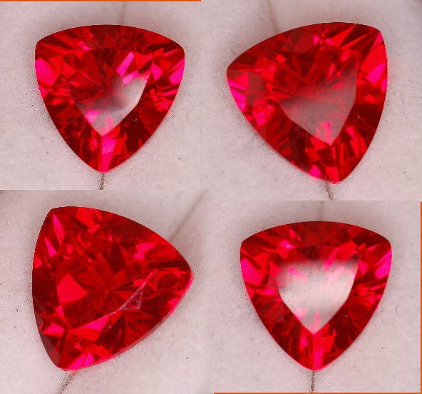 10 mm, Rubies-Lab-trillion