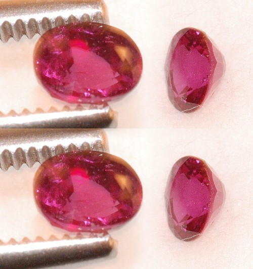 4.5x3.5mm,Burmese Red Ruby-oval