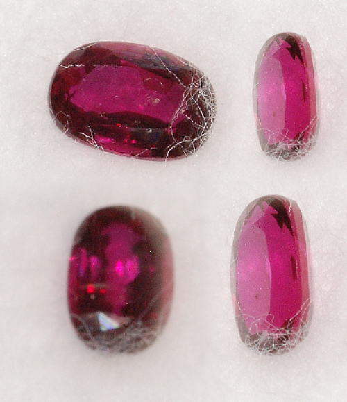 5.25x3.5mm,Burmese Red Ruby-oval