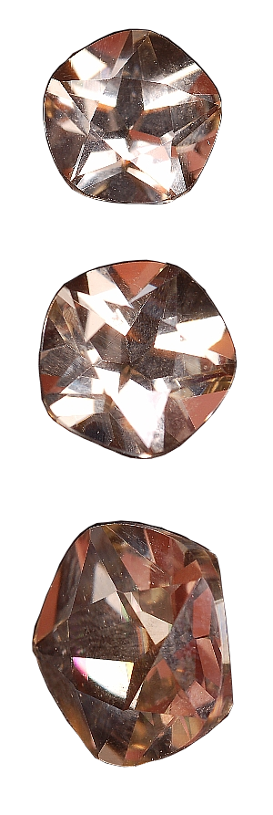 8 mm, Straw Yellow Sunstone-texas star