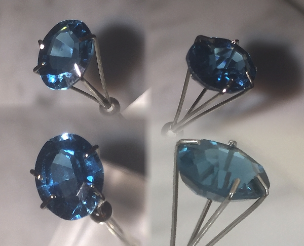 9x7mm, London Blue Topaz-Oval