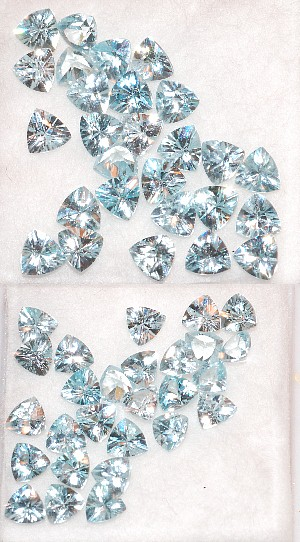 3.5 mm, Blue Zircon-trillion